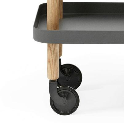 Normann Copenhagen Block Table - Dark Grey Trays image 4