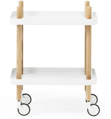 Normann Copenhagen Block Table - White Trays
