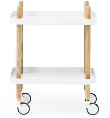 Normann Copenhagen Block Table - White Trays