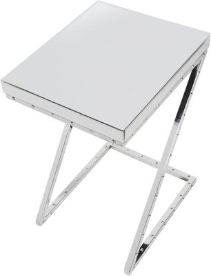 Z-Leg Side Table Polished Chrome image 3