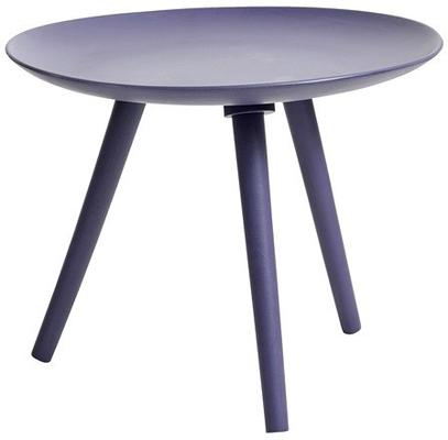 Painted Wooden Side Table Nordic Style image 2