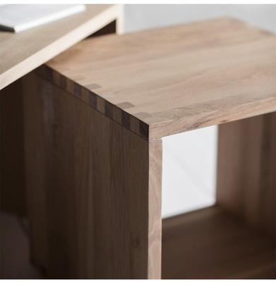 Kielder Nest Of 2 Simple Wood Tables image 2