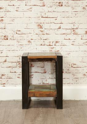 Shoreditch Rustic Low Lamp Table image 3