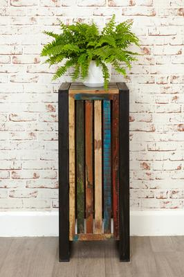 Shoreditch Rustic Tall Lamp Table