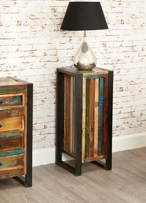 Shoreditch Rustic Tall Lamp Table image 3