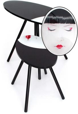 Acrylic Oriental Face Nesting Tables image 5