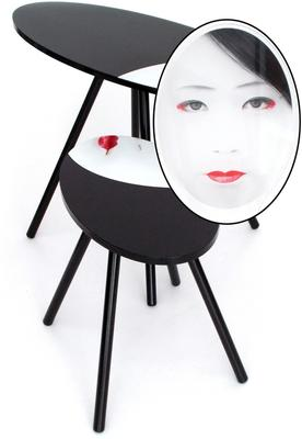 Acrylic Oriental Face Nesting Tables image 6