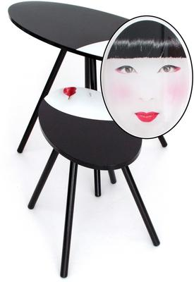 Acrylic Oriental Face Nesting Tables image 7