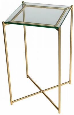 Iris Square Plant Stand Clear Glass Top image 18