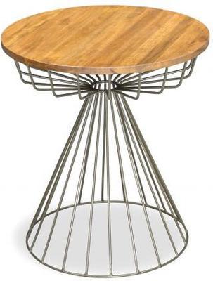 Birdcage Side Table Vintage Style image 2