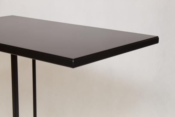 Monty Small Table - Black Steel Finish image 3