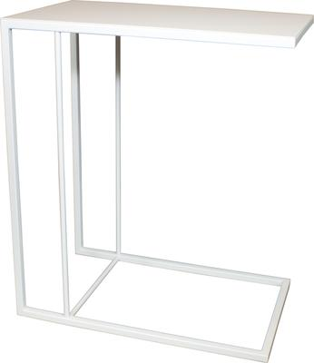 Monty Small Table - White Steel Finish