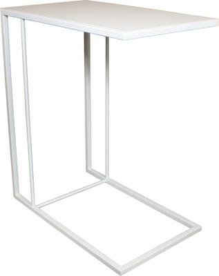 Monty Small Table - White Steel Finish image 2