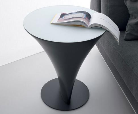 Boat round side table image 2