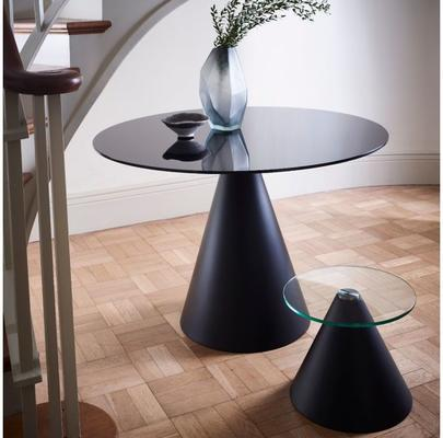 Oscar Circular Side Table with Cone Base image 8