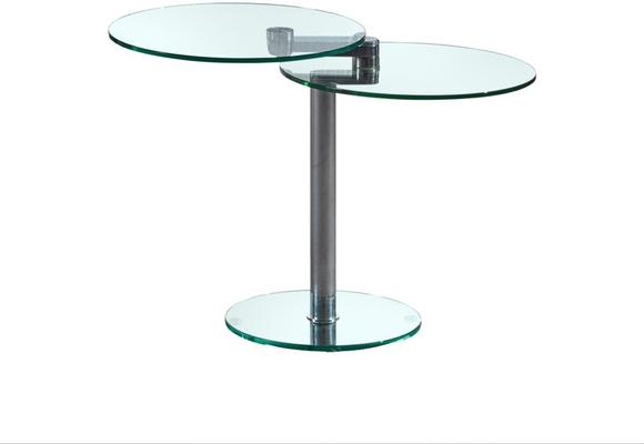 Eclipse swivel extending side table