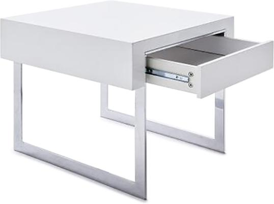 Lema side table with drawer