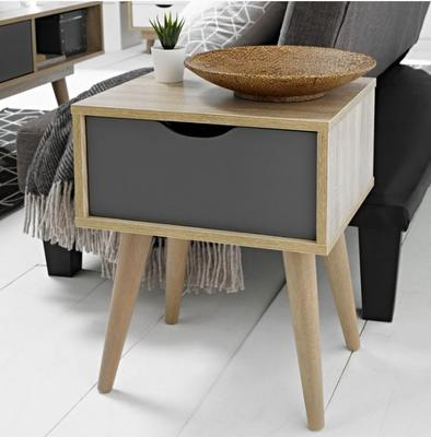 Scuna lamp table with drawer image 2