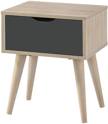 Scuna lamp table with drawer image 4
