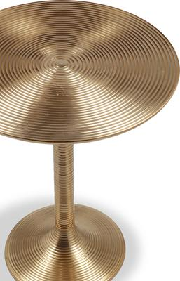 Rialto Polished Brass Side Table image 4