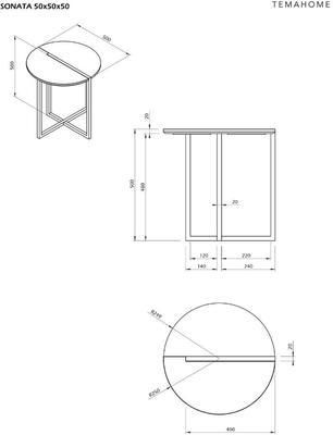 Sonata side table image 20