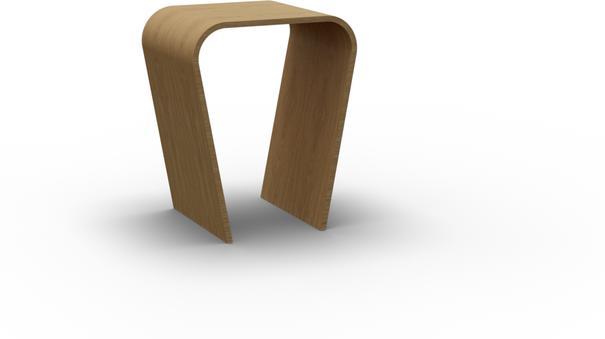 Tom Schneider Taper Lamp Table image 2