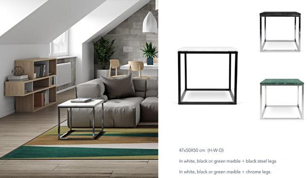 Prairie (marble) lamp table image 13