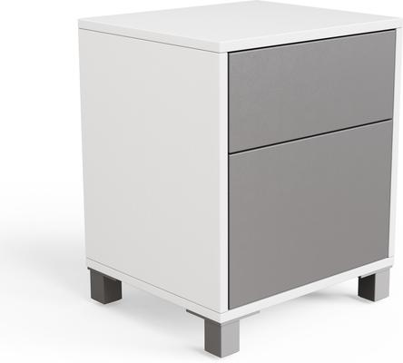 Frank Olsen LED Smart Click Side Table - White and Grey  image 5