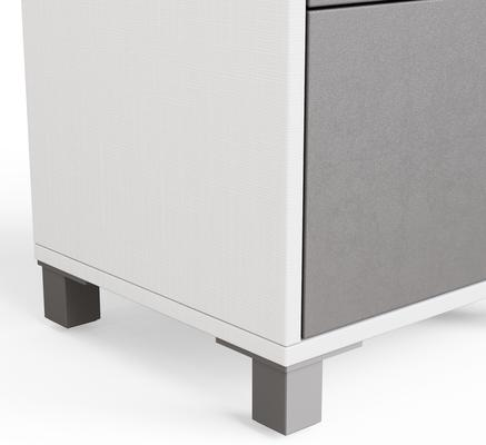 Frank Olsen LED Smart Click Side Table - White and Grey  image 6