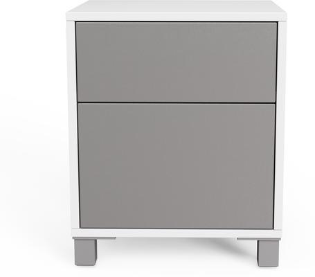 Frank Olsen LED Smart Click Side Table - White and Grey  image 7