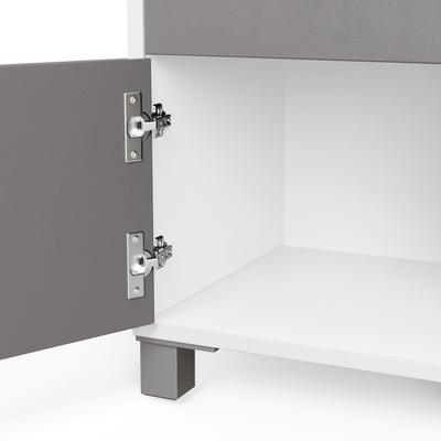 Frank Olsen LED Smart Click Side Table - White and Grey  image 8
