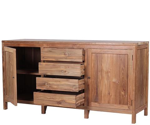 The 'Birak' Reclaimed Teak Wood Sideboard