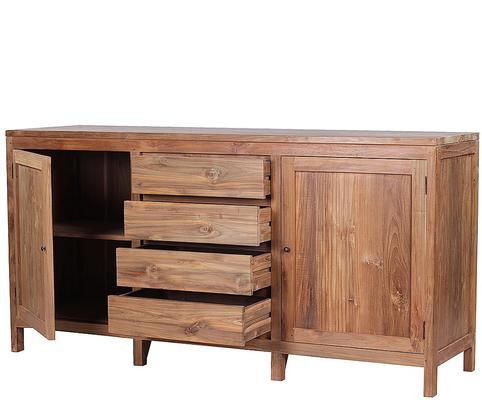 The 'Birak' Reclaimed Teak Wood Sideboard  image 2