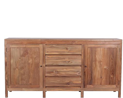 The 'Birak' Reclaimed Teak Wood Sideboard  image 3