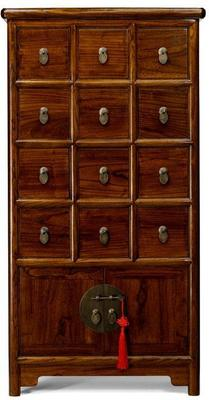 Apothecary's Cabinet, Warm Elm image 3