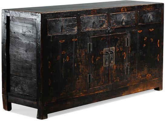 Black Painted Sideboard