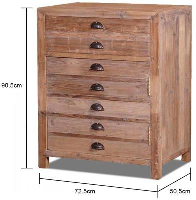 Single Rustic Pine Storage Cupboard image 2