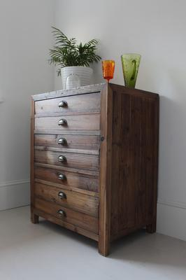 Single Rustic Pine Storage Cupboard image 3