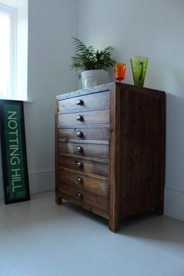 Single Rustic Pine Storage Cupboard image 5