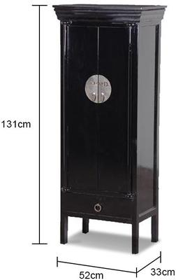 Lacquered Chinese Cabinet image 2