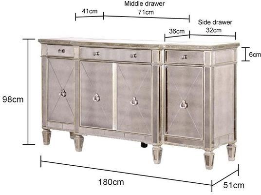 Long Venetian Sideboard image 5