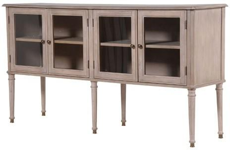 Elevated Washed Timber Sideboard image 2