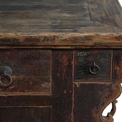 Elm Cabinet with Five Drawers image 3