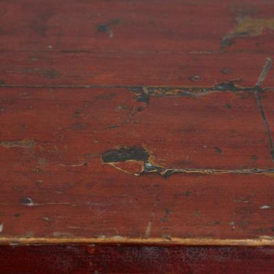 Red Lacquer Painted Sideboard image 3