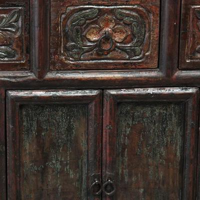 Carved Cabinet, Five Drawers image 5