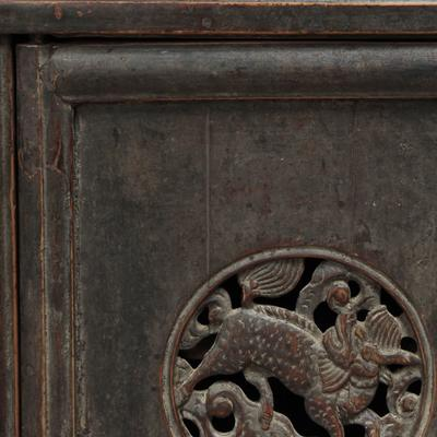 Carved Tapered Cabinet image 4