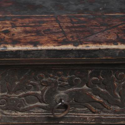 Carved Tapered Cabinet image 5