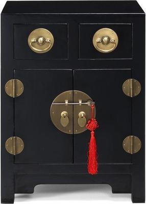 End Cabinet, Black Lacquer image 2