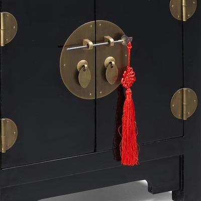 End Cabinet, Black Lacquer image 3