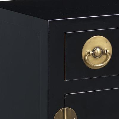 End Cabinet, Black Lacquer image 4